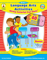 Language Arts Activities with Cut-Outs, Grade 1