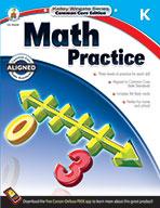 Math Practice, Grade K (eBook)