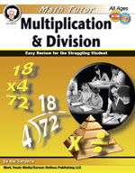 Math Tutor: Multiplication and Division by Mark Twain Media