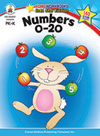 Numbers 0-20, Grades Pk - K (ebook)