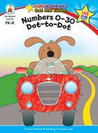 Numbers 0-30: Dot-To-Dot, Grades Pk - K (ebook)
