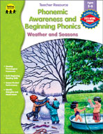 Phonemic Awareness and Beginning Phonics: Weather and Seasons