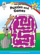 Puzzles And Games, Grade 1 (ebook)