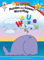 Puzzles And Games: Word Play, Grade 2 (ebook)