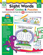 Sight Words Secret Codes and Puzzles