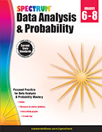 Spectrum Data Analysis And Probability, Grades 6-8 (eBook)