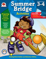 Summer Bridge Activities, Grades 3-4