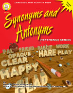 Synonyms and Antonyms by Mark Twain Media