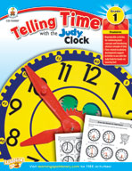 Telling Time with the Judy Clock: Grade 1