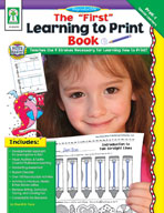 The First Learning to Print Book
