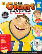 The Giant Makes The Team: Early Reading Activities