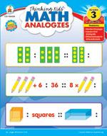 Thinking Kids Math Analogies, Grade 3