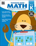 Thinking Kids Math , Prekindergarten (eBook)