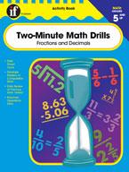 Two-Minute Math Drills, Grades 5-8