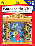 Words On The Vine, Grades 5 - 8 (ebook)