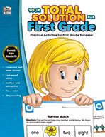 Your Total Solution For First Grade, Grade 1 (ebook)