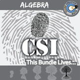 CSI: Algebra 1 -- STEM Project -- Complete eBook