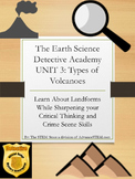 CSI Detective Unit: Learn about Types of Volcanoes through