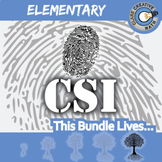 CSI: Elementary Math -- STEM Project -- Complete eBook