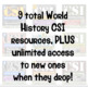 CSI World History *GROWING* Bundle! Tut, Maya, Shakespeare