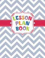 Chevron Lesson Plan Book Open eBook