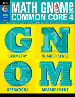 Grade 5 Math GNOMe and the Common Core 4 Resource Book, eBook