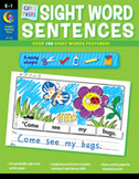Cut and Paste Sight Words Sentences