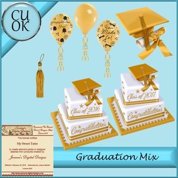 CU Graduation Mix Gold