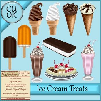 CU Ice Cream Treats