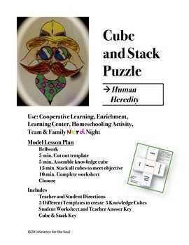 CUBE AND STACK PUZZLES: Human Heredity