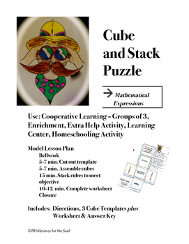 CUBE AND STACK PuZZLE: Polynomials & Mathematical Expressions