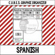 CUBES Strategy, Graphic Organizer(ENGLISH, SPANISH & FRENC