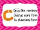 CUBES Problem Solving Strategy--Pink Chevron