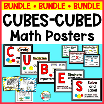 CUBES Word Problem Strategy Multiplication & Division