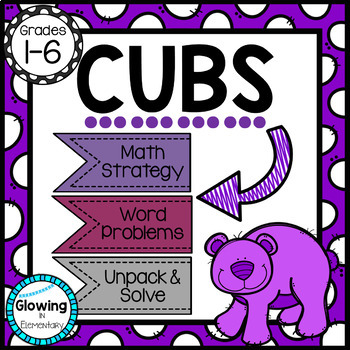 CUBS Strategy for Solving Word Problems