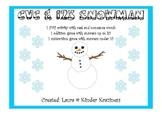 CVC & 123 Snowman