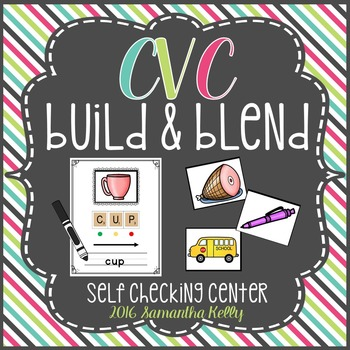 CVC Station - Word Build and Blend