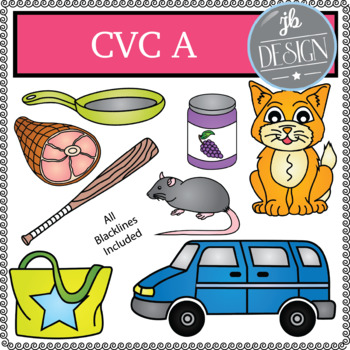 CVC A Pack (JB Design Clip Art for Personal or Commercial Use)