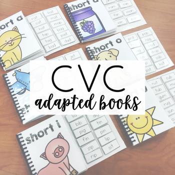 CVC Adapted Books