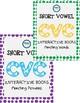 CVC BUNDLE- SPED/Autism/Elementary