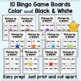 CVC Word Bingo - Games for Mixed Practice (All 5 Short Vowels)