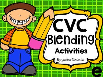 CVC Blending Activities Short E