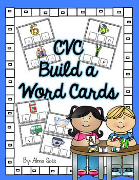 CVC Build a Word Cards