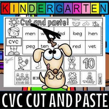 CVC CUT AND PASTE PLUS EXIT TICKETS- SHORT e
