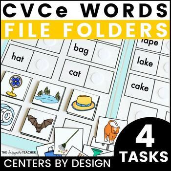Centers by Design: CVC vs. CVCe Words File Folder Tasks