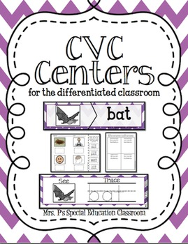 CVC Centers for the Differentiated Classroom
