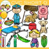 CVC Clip Art  - Short O Word Family