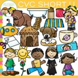 CVC Clip Art - Short U Clip Art
