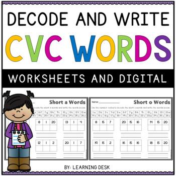 CVC Code Words: Break the Code
