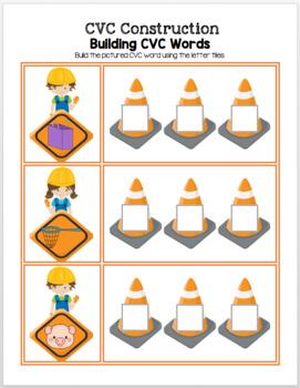 CVC Construction - Building CVC Words